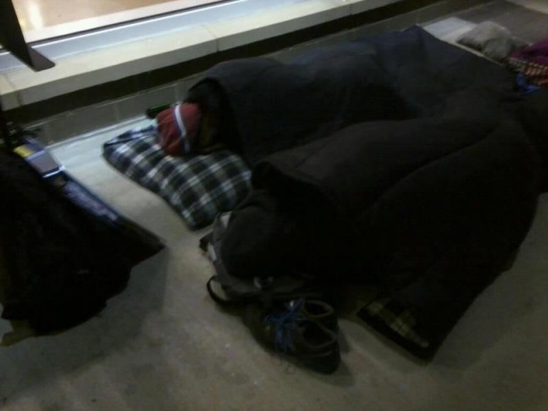H&H week sleep out